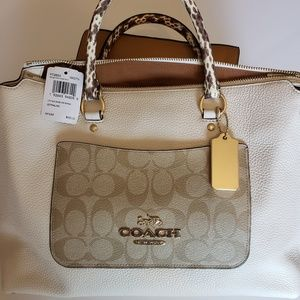 Coach Bags 65th Anniversary Legacy Ali Flap Camel 11134